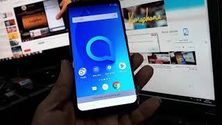 ALCATEL 5V 5060D 2019 Remove Google Account Unlock FRP Android 8 1