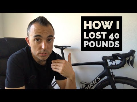 How I lost fat while Cycling