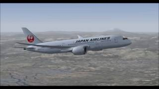 FSX | tokyo to helsinki with japan airlines