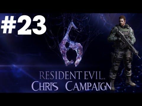 Resident Evil 6 - Walkthrough - Part 23 - [Chris Campaign] - Finn Is A Beast