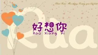 [Thảo Rùa- Học tiếng Hoa] 好想你/ I miss you - Joyce Chu