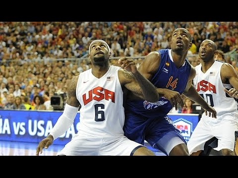 USA @ Spain 2012 Olympics Men's Basketball Exhibition Friendly HD 720p FULL GAME English