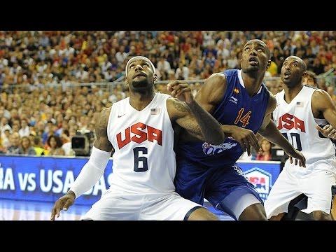 USA @ Spain 2012 Olympics Men
