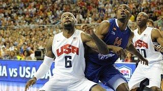 USA @ Spain 2012 Olympics Men's Basketball Exhibition Friendly HD 720p FULL GAME English