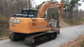 An Excavator in Gatineau Park, Quebec??
