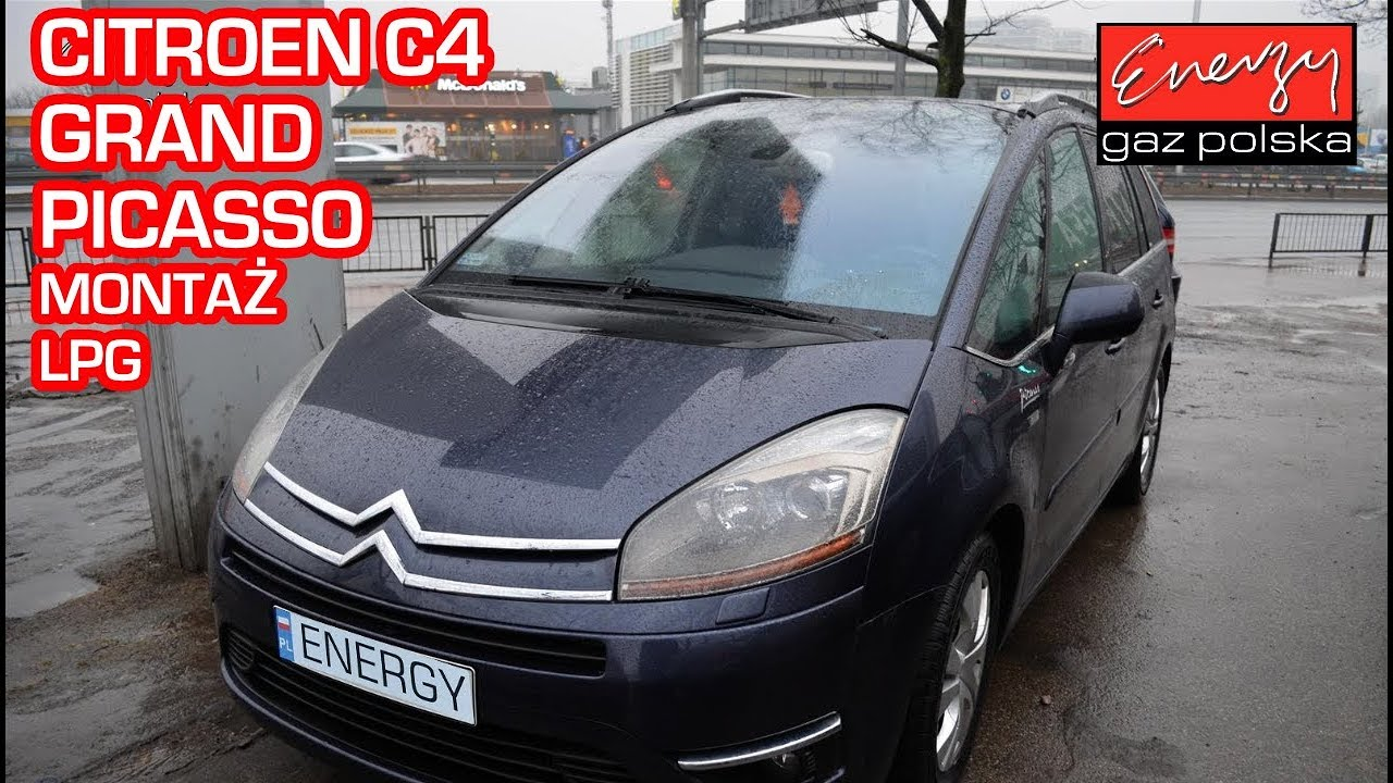 Montaż LPG Citroën Grand C4 Picasso w Energy Gaz Polska na gaz BRC Sequent 32