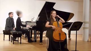 Camille Saint Saens - Sonata for Cello and Piano, Nr. 1 in C Minor
