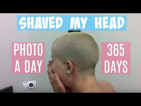 Download Shaved My Head | Hair Growth In 365 Days | Timelapse Screenshots