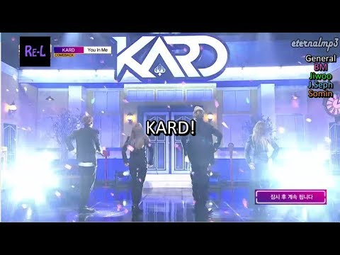 KARD - You In Me Fanchant with Color Coded Karaoke Lyrics ENGLISH/ROM/HAN)