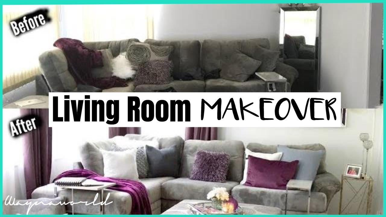 Extreme Makeover: Glam Living Room With 4 DIY Decor Ideas