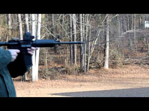 Rapid Fire  & Slow Motion - Sig Sauer M 400 - The Lighthouse Lady
