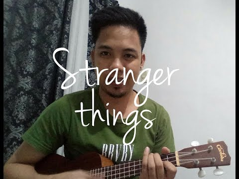 Stranger things theme - Ukulele