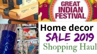 Home decor shopping haul/Homecentre, Amazon Home decor haul 2019 // Home decoration diwali sale haul