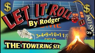 Craps Betting Strategy - THE TOWERING 6 - BEGINNER INTERMEDIATE OR HIGH ROLLER STRATEGY