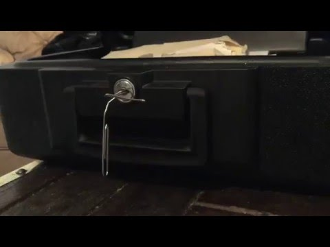 How To Break Into A Sentry Safe With A Paper Clip