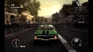 GRID 2, Chevrolet Camaro Z28 (Paris, Champs Elysees)