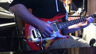 silver surfer guitar video
