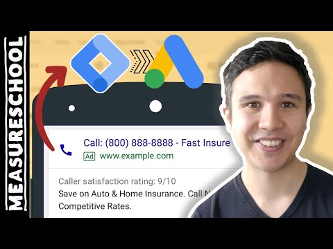 Google Ads Website Call Conversion Tracking with GTM