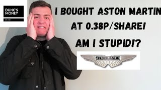 Buy ASTON MARTIN Shares? | Will Aston Martin Go Bust | Is This the Time to Buy or Am I Crazy?