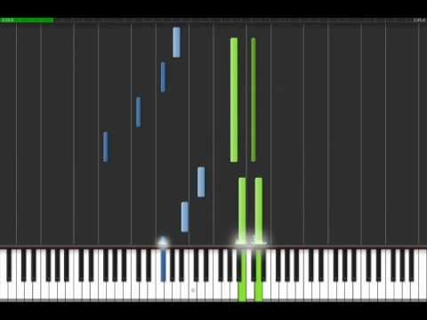 Canon in D  Piano Tutorial fast