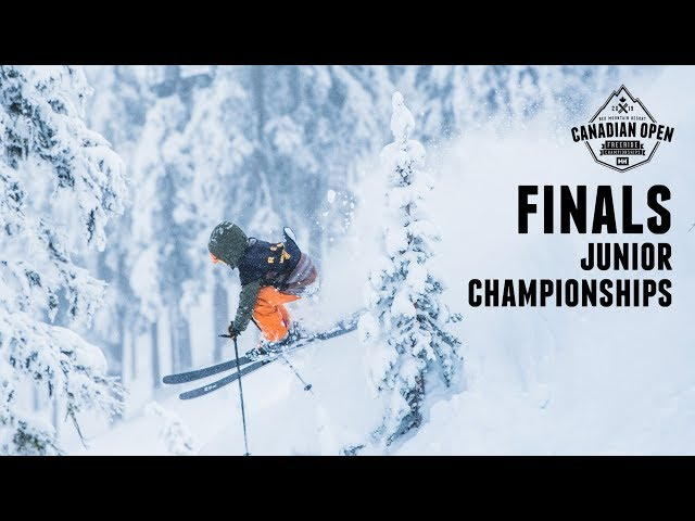 Day 3 Finals: 2019 Canadian Open Freeride Junior Championships