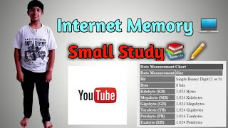 Internet Memory | Byte and Bitrate | Youtube Targeted | Part 1