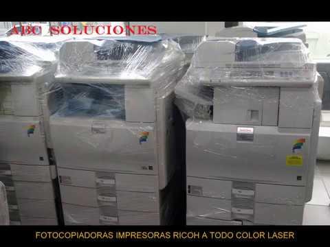 VENTA Y RENTA DE FOTOCOPIADORAS DIGITALES RICOH COLOR Y B/N