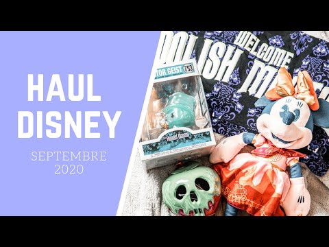[#45] HAUL DISNEY : HALLOWEEN, DISNEYLAND PARIS, FUNKO POP... 🛍