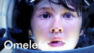 A young boy who lost his mother meets a girl that claims her spaceship can find her. | The Treehouse