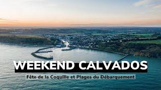 WEEKEND CALVADOS⎜Fête de la coquille Saint Jacques et Plages du Débarquement