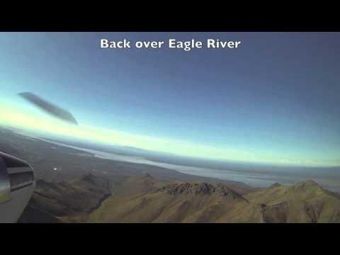 Chugach Mountains Flight