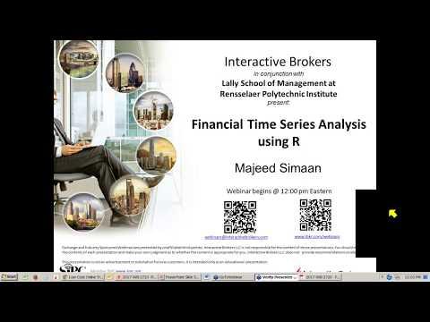 Financial Time Series Analysis using R