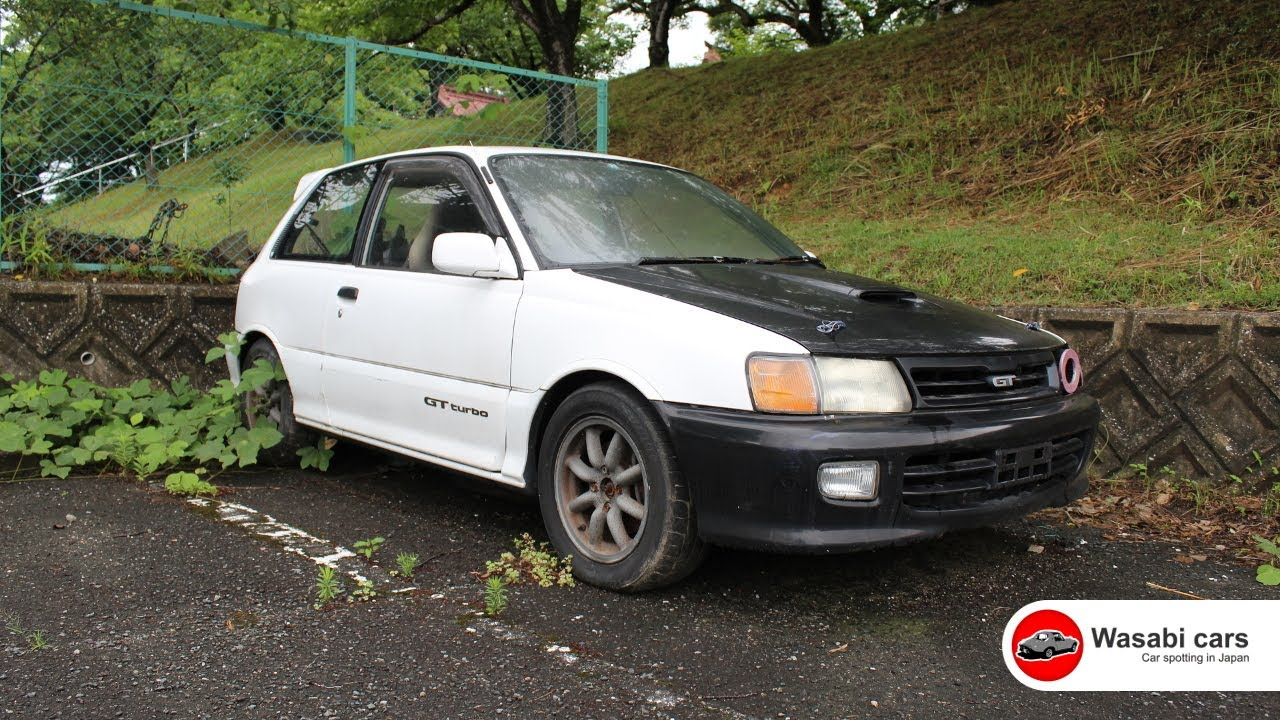 Left To Rot: TRD Equipped, Toyota Starlet GT Turbo - EP82