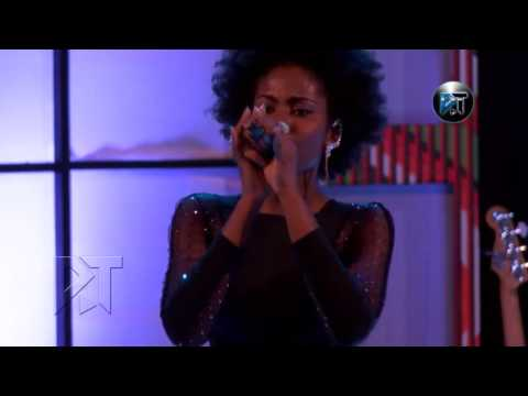 MzVee performs at Akosua Agyapong at 25 concert