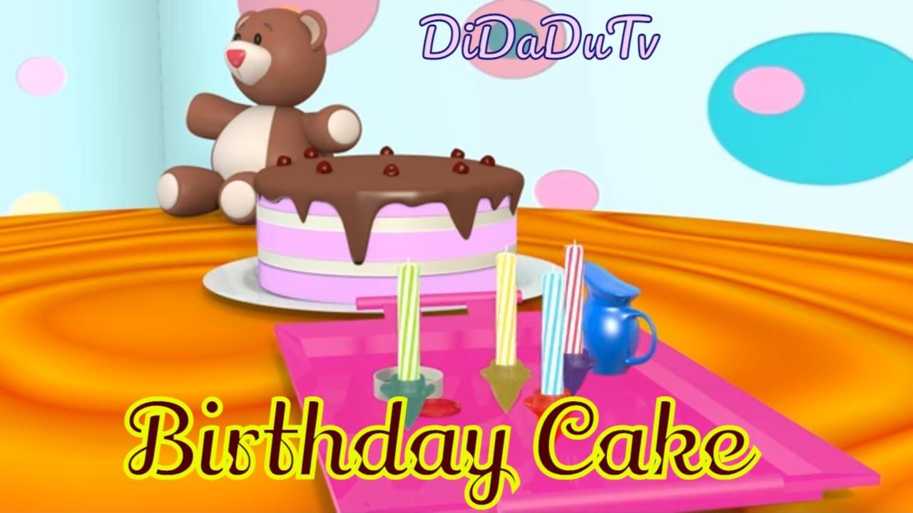 Happy Birthday Cake Happy Birthday Surprise Toys Didadu Tv Car