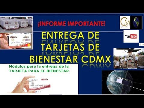 Entrega De Tarjetas De Bienestar Para Adultos Mayores Cdmx