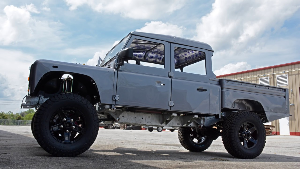 Project Spectre Custom Defender 130 Youtube