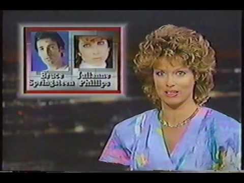 Bruce Marries Julianne Wedding News 1985 Youtube
