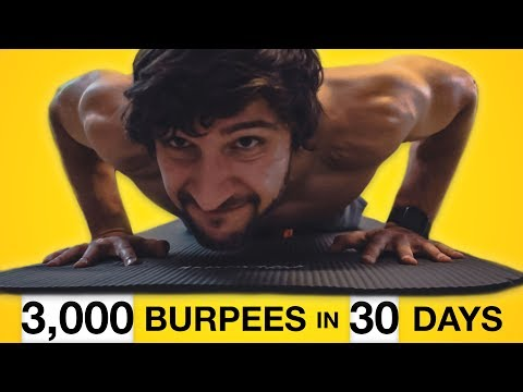 I did 100 BURPEES for 30 days. Here's what happened.