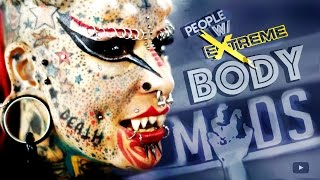 10 People w/ Extreme Body Modifications