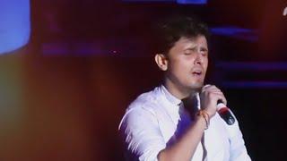 Soulful Sonu Nigam Sings Do Pal Ruka Khwabon Ka Karvan | #Live | Mauritius 1 Nov 2013 |