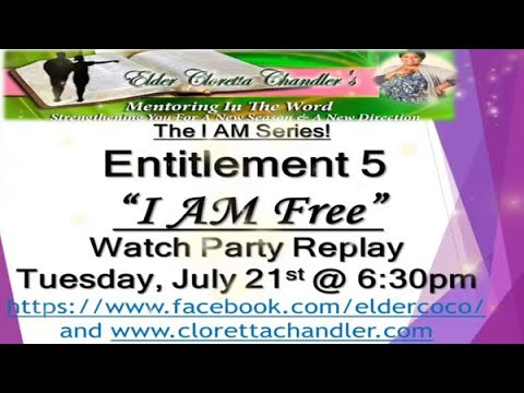 The I AM Series, Entitlement 5 -
