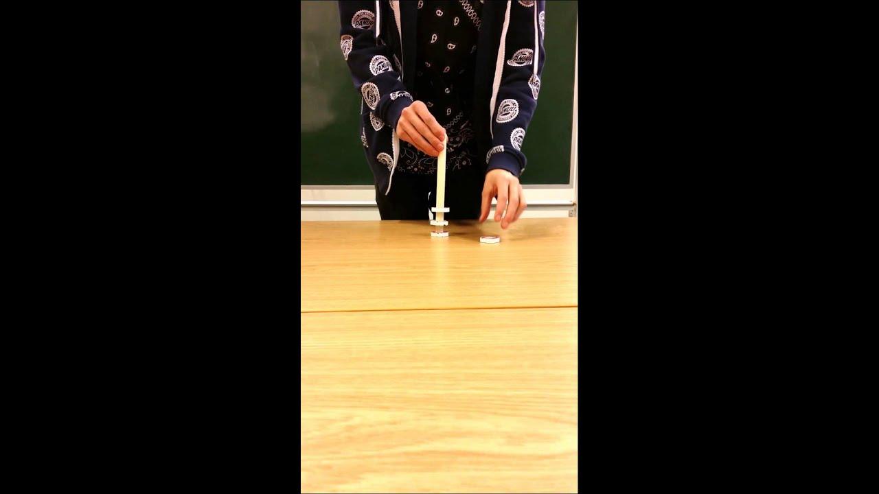 Kopi af Magnetiske kræfter ophævning af tyngdekraften