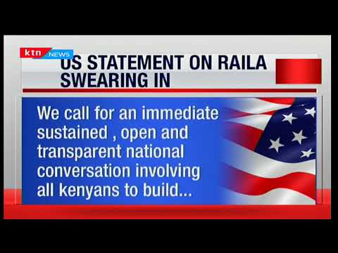 NASA leader Raila Odinga castigates US and other embassies for not condemning post poll killings