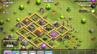 Clash of clans - Level 43 - TH Level 7 - My strategy