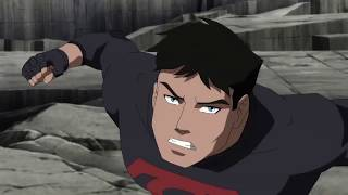 Young Justice  Lobo vs Nightwing Superboy Artemis and Outsiders