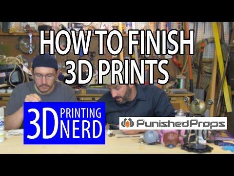 Painting & Finishing 3D Printed Models: Harry Potter Elder Wand