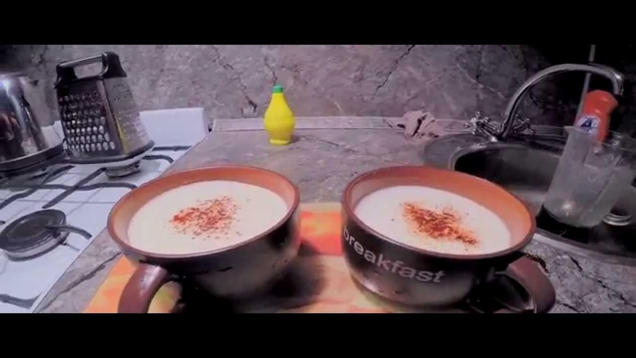 Смузи Любовь-любовь (имбирь, йогурт и груша) [рецепты смузи] [смузи] [смузи в блендере]