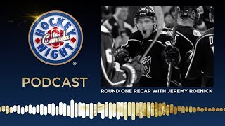 Round One Recap with Jeremy Roenick | Hockey Night in Canada Podcast