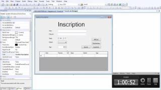 Correction Examen Pratique 2011 Variante 1-1 (evenementielle) - BELBSIR SAÂD